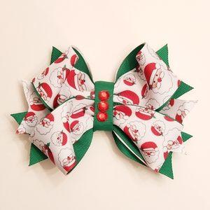 Other - 3x $20 Handmade Christmas Santa Hair Bow